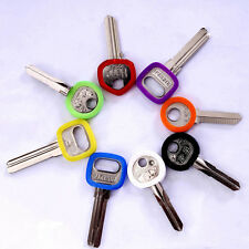 8pcs Silicone Key Cap Covers Case Hollow Topper Keyring Bly Braille Random Color