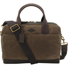 Fossil Wyatt Canvas Laptop Work Bag MBG9243200
