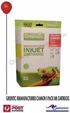 Greentec Canon Remanufactured CLI-8 PGI-5 Black & Colour 5 Ink Value Pack BNIB