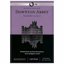 Masterpiece: Downton Abbey - Seasons 1-3 (DVD, 2013, 10-Disc Set)