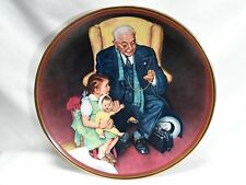 Norman Rockwell 1988 Tender Loving Care Knowles Collector Plate With Box