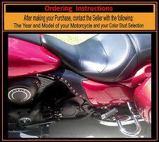 Kawasaki Saddle Shields Voyager Vaquero V-Twin HEAT Deflectors Made in USA