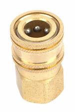 "Brass 1/4"" Female Quick Coupler Disconnect Socket 5000 PSI Pressure Power Washer"