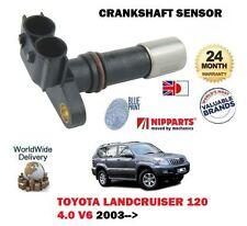 FOR TOYOTA LANDCRUISER 120 4.0 V6 1GR-FE 2003- NEW CRANKSHAFT ANGLE CRANK SENSOR