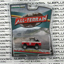 GREENLIGHT 1:64 All-Terrain Series 2 Red 1966 FORD BRONCO Lifted 4X4 Off-Road
