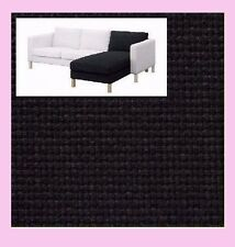 IKEA Karlstad Add-On CHAISE Lounge Cover NIP Korndal Dark Gray NEW Slipcover NEW