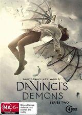 Da Vinci's Demons : Season 2 (DVD, 2014, 4-Disc Set)**R4**Like New*