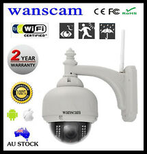 WIRELESS P2P OUTDOOR IP CAMERA IR-CUT WIFI ALERM SECURITY CAM CCTV WATERPROOF QR