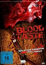 BLOOD TASTE BOX - 3 Splatter-Filme - 100 % uncut (3 DVDs) *NEU OPV* THE DREAD...