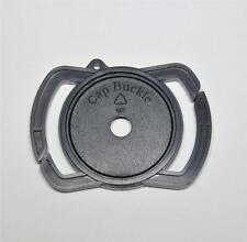 THE CAP BUCKLE LENS CAP KEEPER 37MM OR 58MM AND 46MM CENTRE PINCH OR CLIP ON CAP