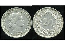 SUISSE  20 rappen 1927