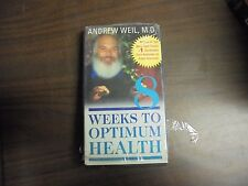 "USED  VHS Movie ""8 weeks To Optimum Health""   (G)"