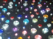 120 Adhesive DIAMANTE Gems Stick on Rhinestone Jewels
