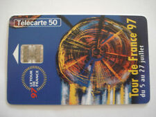 PHONECARD TELECARTE SPORT CYCLISME TOUR DE FRANCE 97