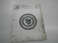 Arctic Cat 1973 Lynx Snowmobile Illustrated Parts Manual