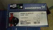 GRUNDFOS ALPHA 2 L 15-50 130 230V CENTRAL HEATING CIRCULATING WATER PUMP -NEW