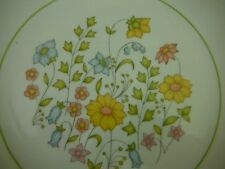 "Corelle Spring Meadow Lunch Plate 8 1/2"" Green Band Dishes"