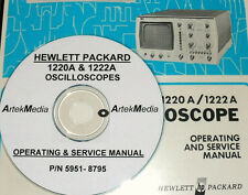 HP  1220A 1222A Oscilloscope Operating & Service Manual