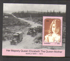 Lesotho 1990 Queen Mother/WW1/Truck/Lorry m/s (n13896)