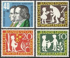 Germany 1959 Grimm's Fairy Stories/Books/Literature/Tales/People 4v set (n27886)
