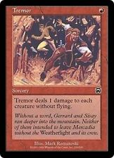 MTG Magic MMQ FOIL - Tremor/Tremblement, English/VO
