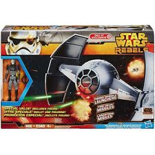Star Wars Rebels The Inquisitor FIGURE & TIE ADVANCED PROTOTYPE Ship Toys