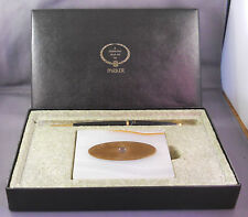 Parker White Onyx 45 Cartridge Pen Desk Set in box
