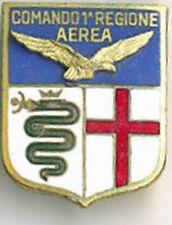 DISTINTIVO AERONAUTICA MILITARE ITALIANA - COMANDO 1^ REGIONE AEREA - ED. MIL IT