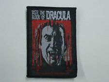 DRACULA HORROR MOVIE WOVEN PATCH