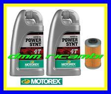 Kit Tagliando KTM 390 DUKE 13 14 Filtro Olio MOTOREX Power Synt 10W/50 2013 2014
