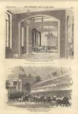 1858 Royal procesión dejando woodsley house there Suite