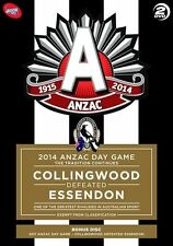 AFL 2014 Anzac Day Game - Tradition Continues Collingwood defeated Essendon DVD