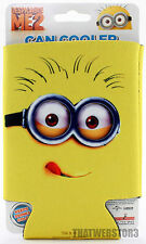 Despicable Me 2 Bob Lick Minion Can Cooler Beer Koozie Soda Coozie ~ Licensed