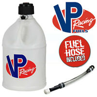 NEW VP Quick Fill Round Petrol Fuel Can - 20 Litre - White