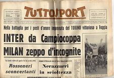 rivista TUTTOSPORT - 22/02/1965 N. 52 INTER - MILAN