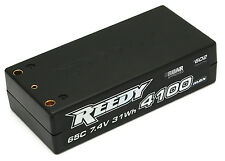 REEDY #602 LiPo 4100mAh 65c 7.4V 31Wh  SHORTY COMPETITION MODEL