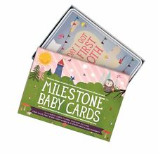 MILESTONE BABY CARDS - BABY SHOWER / NEW BABY GIFT