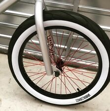 VANDALS BMX Whitewall Black Tyre 20 x 2.40 FAT Tyre SALE! NEW