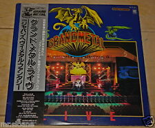 GRAND METAL 5TH JAPAN HEAVY METAL LIVE 2x LP RAJAS BLIZARD MARINO X-RAY MAGNUM