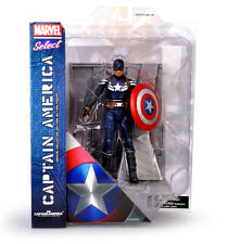 MARVEL SELECT CAPTAIN AMERICA CIVIL WAR ACTION FIGURE KID FIGURINES PLAY SET TOY