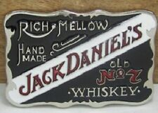 Retro Black Jack Daniels Belt Buckle