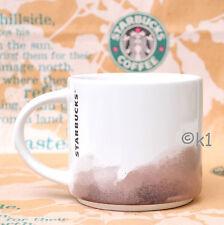 Starbucks® Ltd Mug Aquarell Motiv Braun 14 oz Siren Logo Tasse Becher Cup Beige