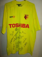Watford 2002-2003 Squad Signed Home Football Shirt COA /6939
