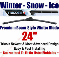 "24"" WINTER Wiper Blade - Super Premium Beam-Style - 2010-2014 - Trico ICE 35-240"