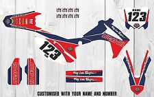 Lucas Oil Honda CRF 250 450 Factory MX GRAPHICS 2013-2016 Custom Motocross