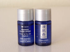 4 Pack of Kose Medicated Sekkisei Clear Lotion 0.45oz.