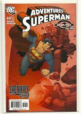 ADVENTURES OF SUPERMAN 642! NM! 2ND PRINT!