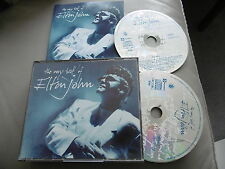 ELTON JOHN : THE VERY BEST OF 2 CD FAT BOX YOUR SONG CANDLE BENNIE SATURDAY