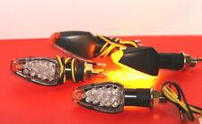 4X LED MINIBLINKER FLEX Schwarz BMW R1150,R1200C,R850,S1000rr,HP2 ENDURO,F650ST