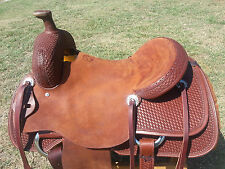 "16"" Spur Saddlery Ranch Cutting Saddle - Made in Texas"